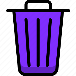 cancel, exit, navigation, sign, trash icon