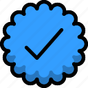 achievement, badge, reward, star, verified, war icon