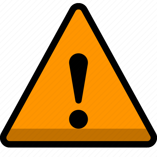 document, earning, problem, sign, warning icon