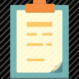 board, clip icon