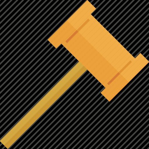 hammer, service, work, worker icon