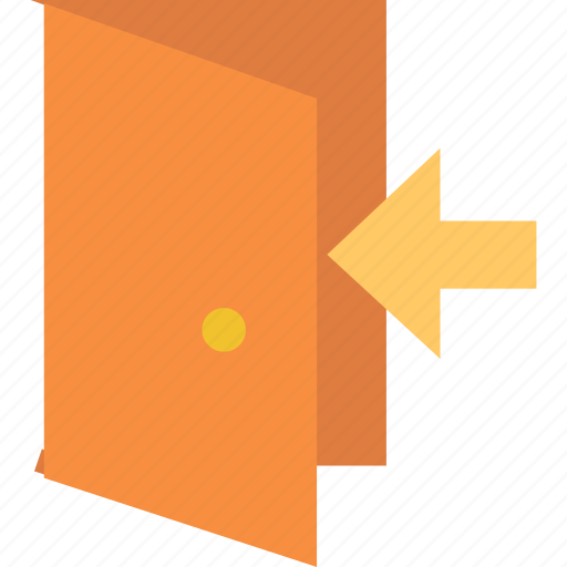 in, sign icon