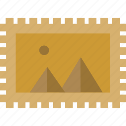 mail, stamp icon