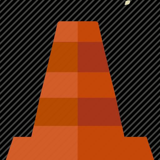 cone, traffic icon