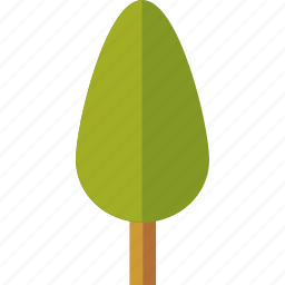 forest, green, palm, structure, tree icon
