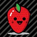 food, fresh, fruit, funny, harticon, healthy, strawberry