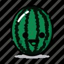 food, fresh, fruit, funny, harticon, healthy, watermelon
