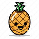 food, fresh, fruit, funny, harticon, healthy, pineapple