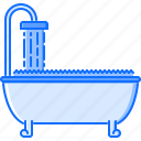bath, bathroom, decoration, furniture, home, house, water icon