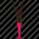 antique, bulk, decorative, flora, flower, jardin, vase icon