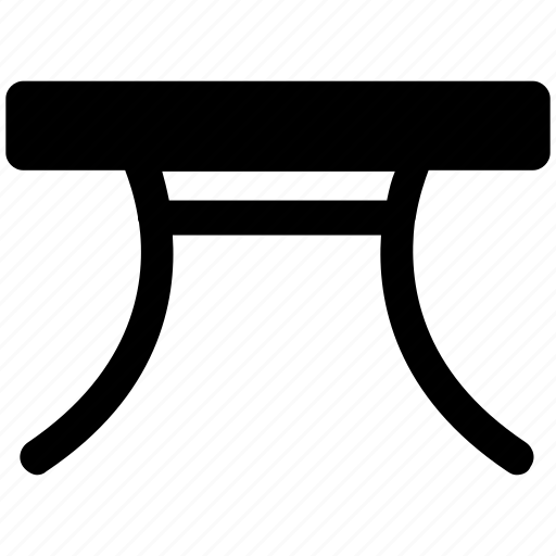 dining table, expanding table, furniture, iron stand, iron table, table icon