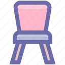 armchair, chair, desk, furniture, kitchen, seat, sit, stool icon