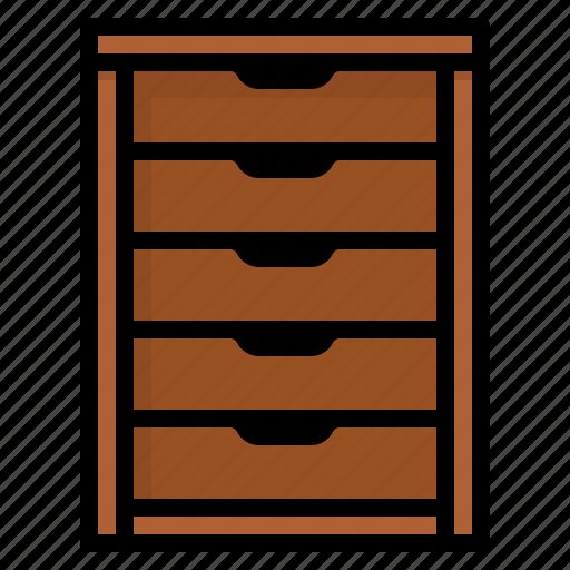 cabinet, furniture, storage, wardrobe icon