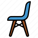 chair, decorate, furniture, seat icon