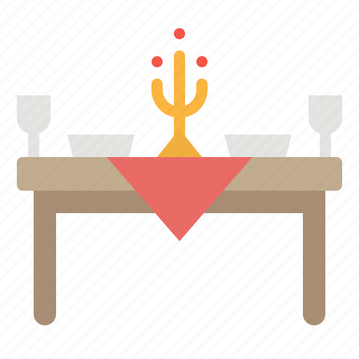 Chair, dinner, furniture, restaurant, table icon - Download on Iconfinder