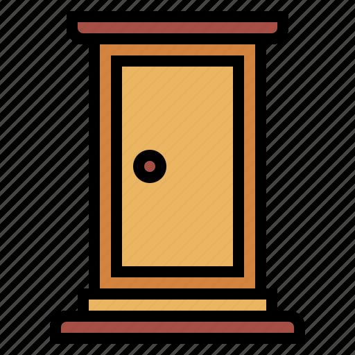 Door, Doraemon, Exit, Furniture Icon