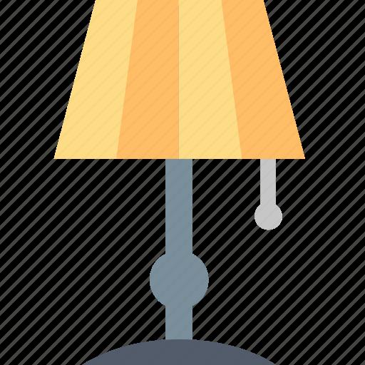 floor, furniture, house, interior, lamp, light, lighting icon