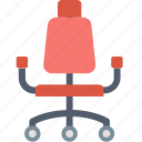 business, ceo, chair, furniture, office, seat, work icon