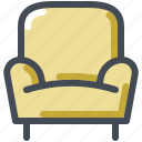 armchair, chair, furniture, interior