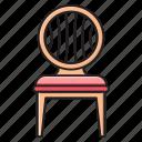 furniture, home, interior, mirror, showcase icon