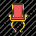 chair, furniture, seat, interior, vintage, retro, old