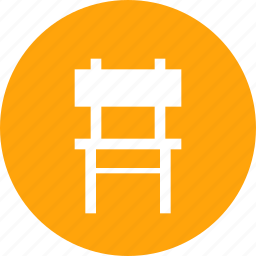 chair, furnishings, furniture, household, sittingbelongings icon