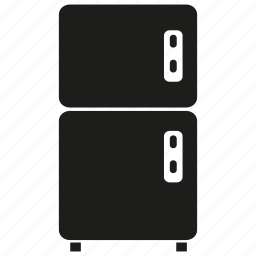 electronic, refrigerator icon