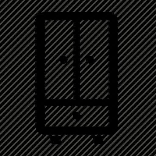 furniture, piece, wardrobe icon