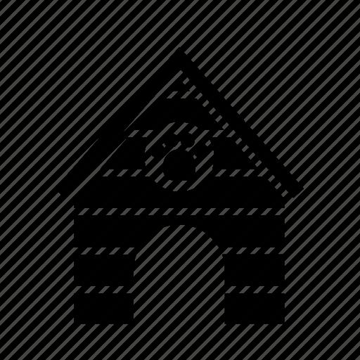 animal, dog, dog house, doghouse, house, pet icon