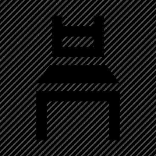 chair, furniture, kitchen, office icon