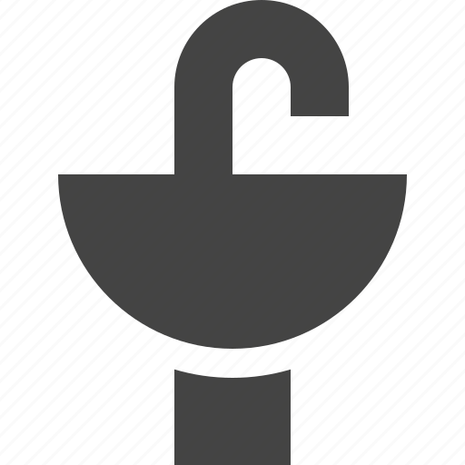 appliance, decoration, furniture, home, sink, water icon