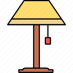 electric, electricity, floor lamp, idea, lamp, light, lightning icon