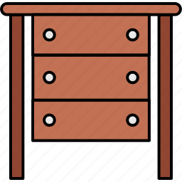 business, drawer, drawers, furniture, home, house, office icon
