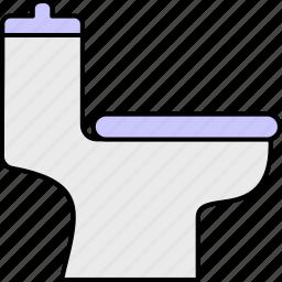 bathroom, cleaning, flush, potty seat, toilet, wash room, washroom icon