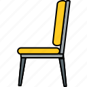 armchair, chair, furniture, home, house, seat, sofa icon