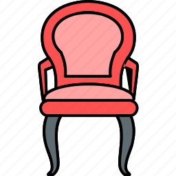 chair, furniture, king, office, prince chair, seat, win icon