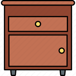 cabinet, drawer, drawers, furniture, home, office, storage icon