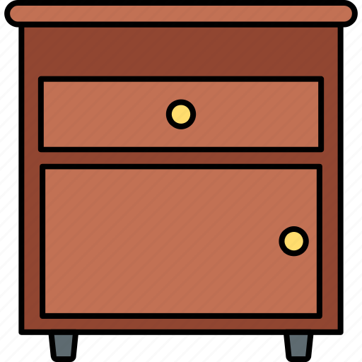 Drawers, furniture, cabinet, drawer, home, office, storage icon - Download on Iconfinder