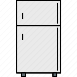 cooler, freezer, fridge, icebox, kitchen, refrigerator, technique icon
