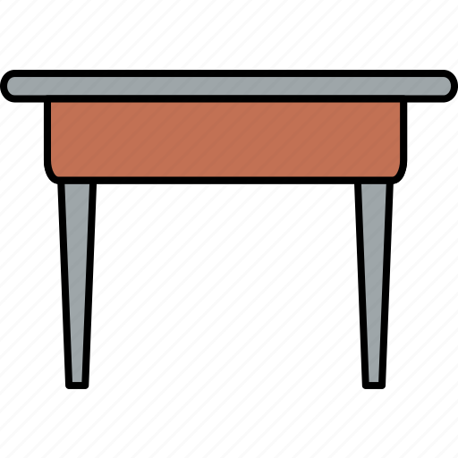 business, chair, desk, furniture, home, office, table icon