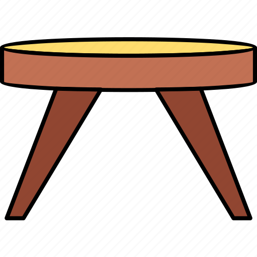 cabinet, furniture, interior, seat, stool, storage, table icon