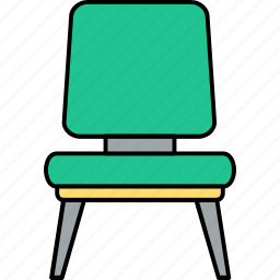 cabinet, chair, desk, furniture, office, room, seat icon