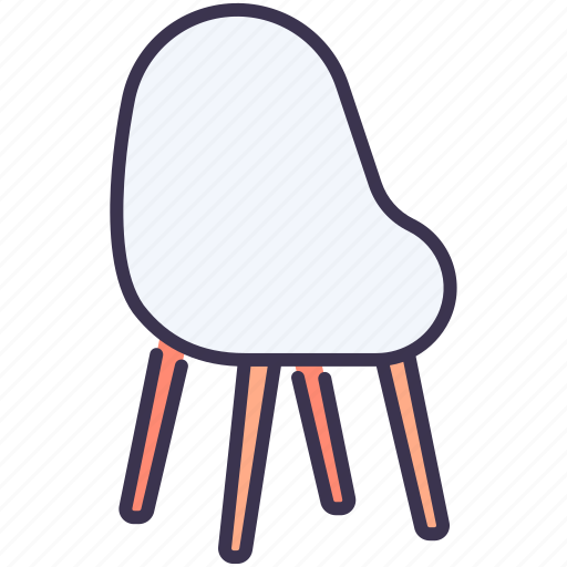 chair, furniture, home, interior, office, sit icon