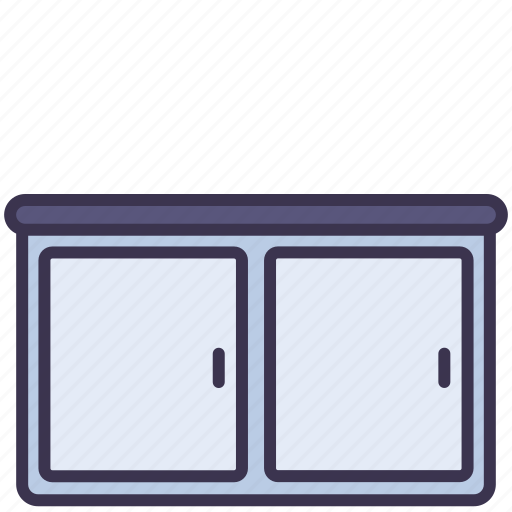 cabinet, furniture, kitchen, locker, table icon