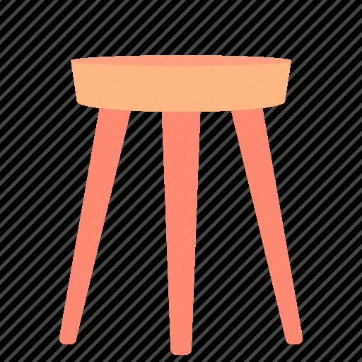 chair, decor, furniture, home, sit icon