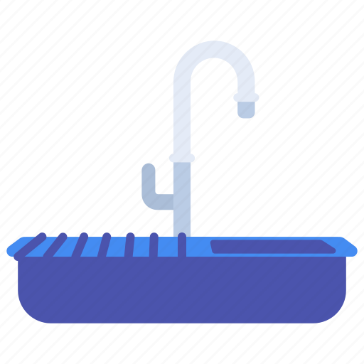 home, sanitary, sink, ware, wash icon