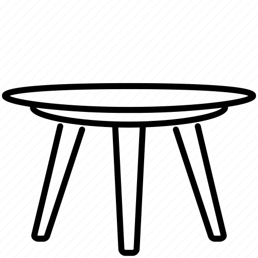 Desk, furniture, home, living, room, table icon - Download on Iconfinder