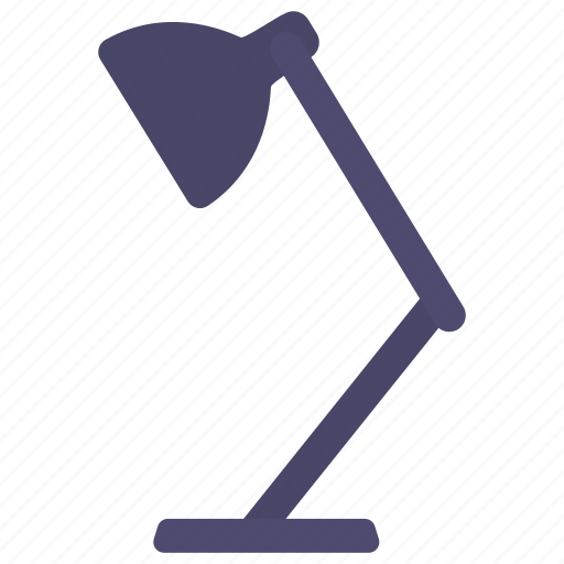 appliance, desk, electric, lamp, lightbulb, work icon