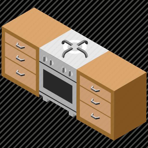 kitchen cabinets, kitchen fitting, kitchen interior, kitchen unit, modern kitchen icon