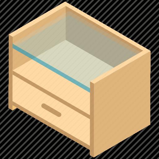 bureau, cabinet, drawers, nightstand, sideboard icon